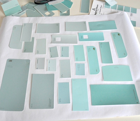 Blue Green Paint Colors expect the unexpected – throw some paint into the mix. | john